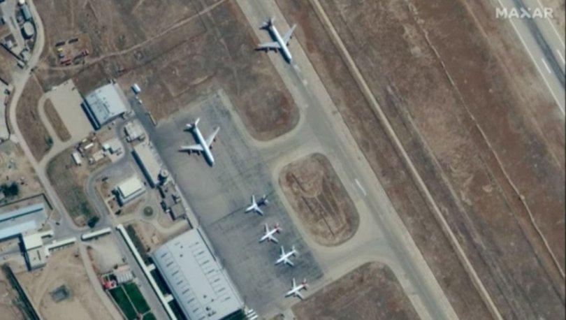 SON DAKİKA: Mezar-ı Şerif Havalimanı'nda Amerikalıların esir tutulduğu iddia edilmişti: Uçaklar görüntülendi!