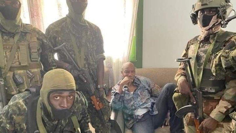 Gine'de ordu yönetime el koydu, Cumhurbaşkanı Alpha Conde ev hapsinde