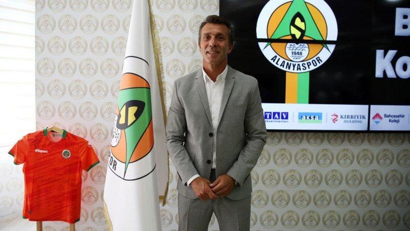 Alanyaspor'da teknik direktörlüğe Bülent Korkmaz getirildi
