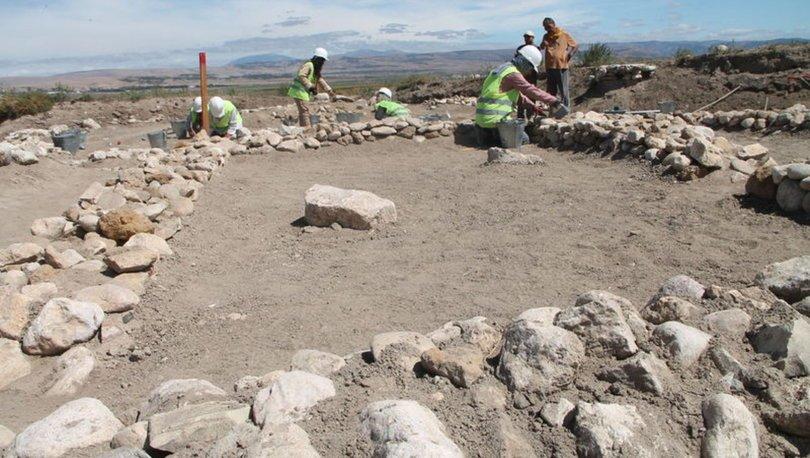 Oluz Höyük kazı alanında Pers sarayının mutfağına ulaşıldı