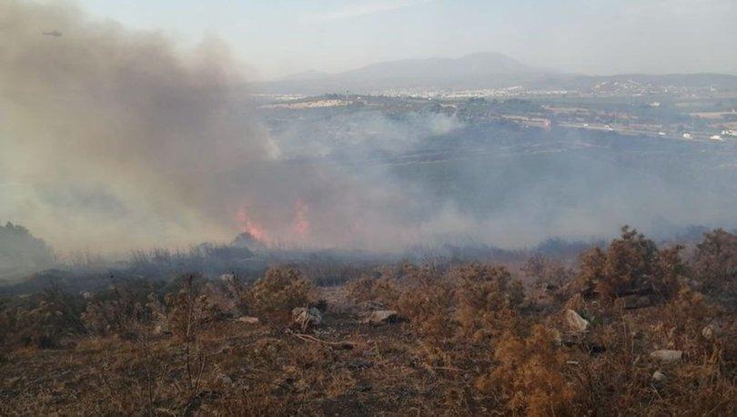 SON DAKİKA! İzmir Torbalı'da yangın!