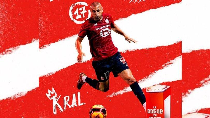 Lille'de ağustos ayının futbolcusu Burak Yılmaz oldu