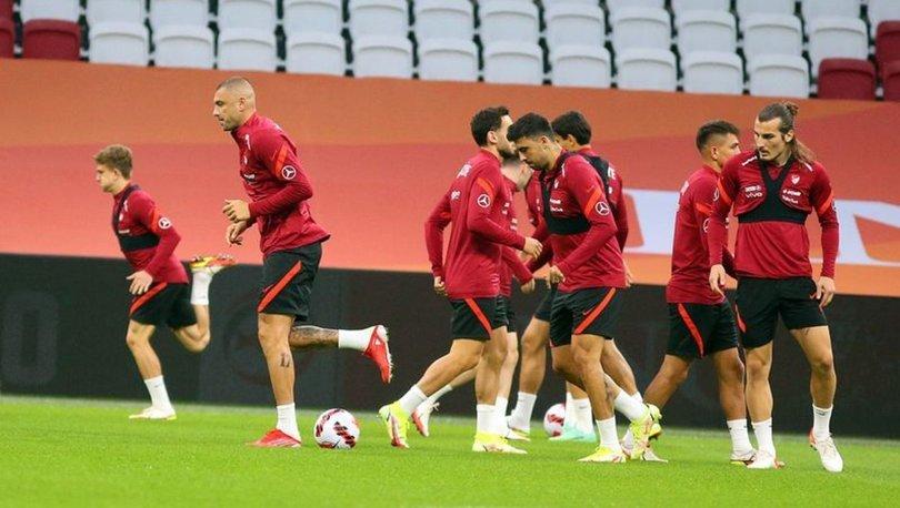 A Milli Futbol Takımı Hollanda maçına hazır