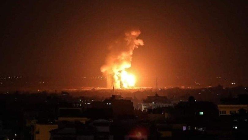 Savaş uçakları havalandı! İsrail'den Gazze Şeridi'ne hava saldırısı