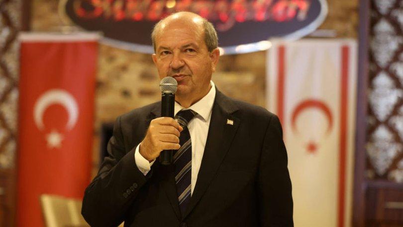 KKTC Cumhurbaşkanı Ersin Tatar'dan selefi Mustafa Akıncı'ya tepki