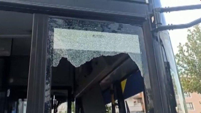 Ankara'da belediye otobüsüne ateş eden şüpheli operasyonla yakalandı