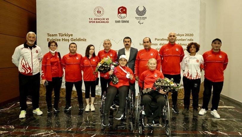 2020 Tokyo Paralimpik Oyunları'nda yarışan son milli kafile yurda döndü