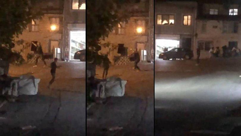 Son dakika: İstanbul'un göbeğinde 'torbacı' çatışması!
