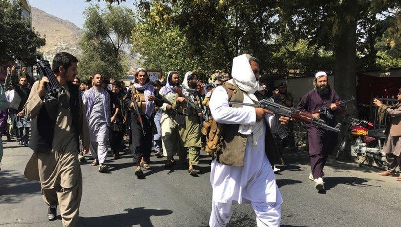 SON DAKİKA: Taliban Kabil'deki protestolara müdahale etti!