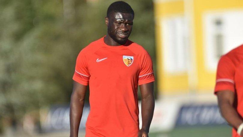 Kayserispor'da Kevin Luckassen, Rumen kulübü Sepsi'ye kiralandı