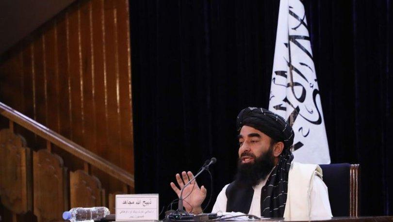 SON DAKİKA: Taliban Sözcüsü Mücahid'ten Türkiye açıklaması
