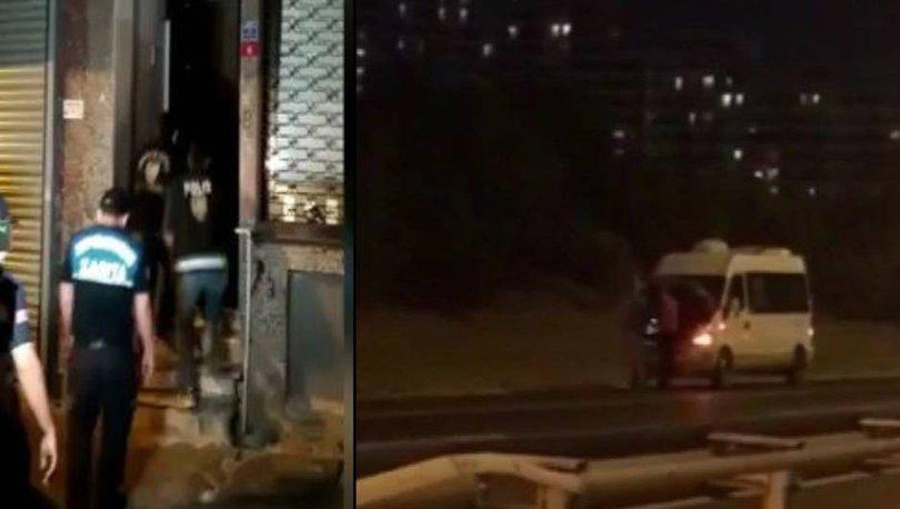 Son dakika: İstanbul'da kaçak göçmen şebekesine darbe - Haberler