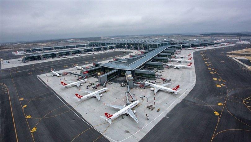 Türkiyede 8 ayda hava yolunu kullanan yolcu sayısı 75,7 milyonu buldu