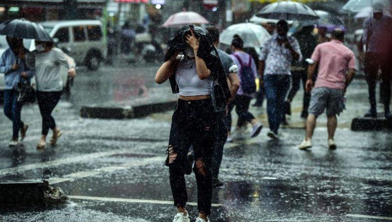 YAĞMUR... Son dakika hava durumu: Meteoroloji il il yağmurlu illeri sıraladı - Hava durumu