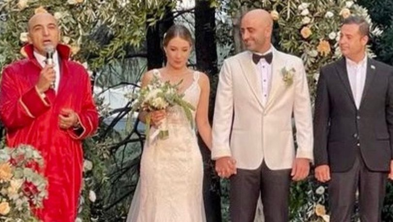Tankut Merter ile Neslişah Sirkecioğlu evlendi - Magazin haberleri
