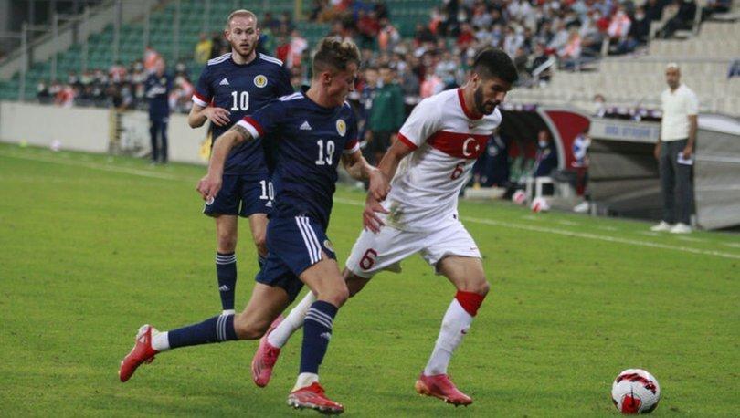 Ümit Milliler, İskoçya'yla yenişemedi: 1-1