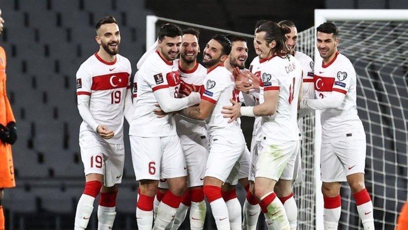 Türkiye puan durumu... Milli Takım kaçıncı sırada? 2022 Dünya Kupası G Grubu puan durumu ve maç sonuçları!