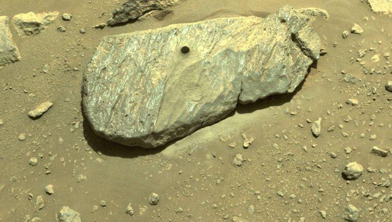 SON DAKİKA! NASA açıkladı! Mars'tan ilk kaya örneği alındı