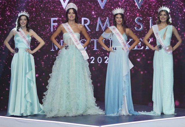 Dilara Korkmaz 2021 Miss Turkey birincisi oldu! - Dilara Korkmaz kimdir?