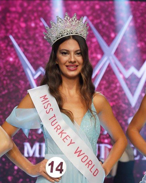 Dilara Korkmaz 2021 Miss Turkey birincisi oldu! - Dilara Korkmaz kimdir?    Magazin Haberleri