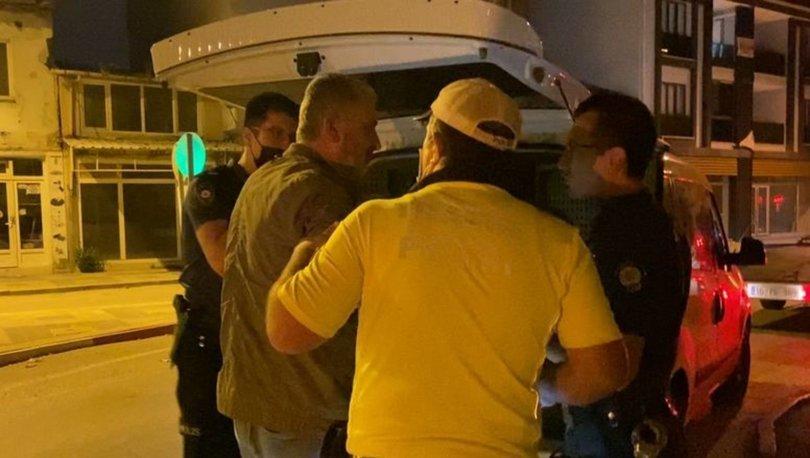 İnegöl'de alkollü sürücüden polise