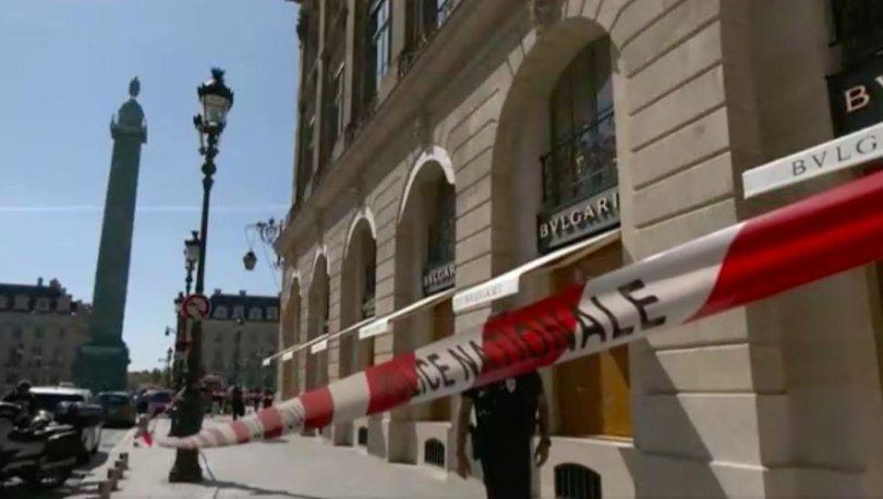 SON DAKİKA: Paris'te ünlü kuyumcu soyuldu: 10 milyon euroluk mücevher çalındı!
