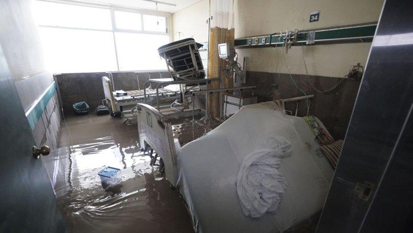 SON DAKİKA: Meksika'da Tula Nehri taştı, hastaneyi su bastı: 10 ölü! - Haberler