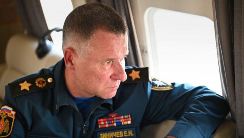 SON DAKİKA: Rusya Acil Durumlar Bakanı tatbikat esnasında hayatını kaybetti!