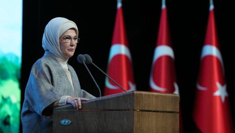 Emine Erdoğan, Sıfır Atık Kısa Film Yarışması Ödül Töreninde konuştu