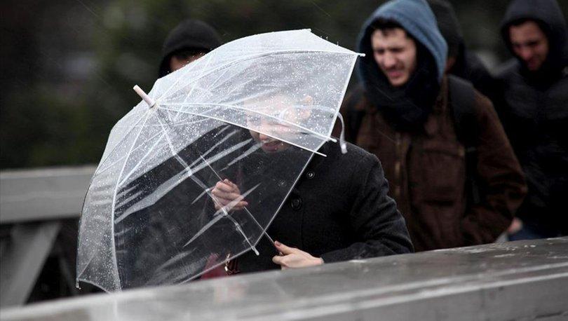 Meteoroloji'den son dakika hava durumu açıklaması: Sağanak yağış geliyor!