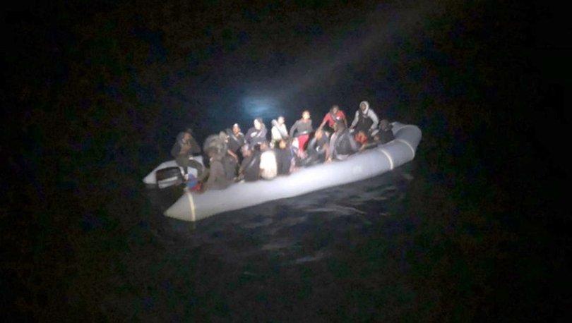 Muğlada Türk kara sularına itilen 26 düzensiz göçmen kurtarıldı
