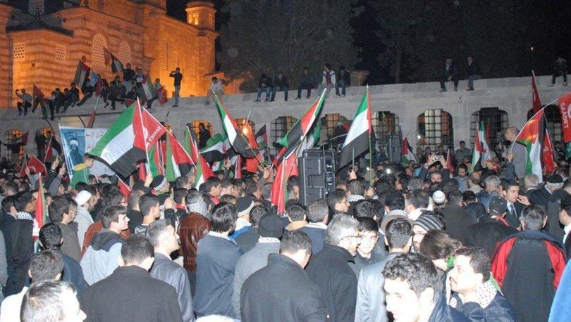 İsrail polisinden Filistinli göstericilere müdahale: 4 yaralı