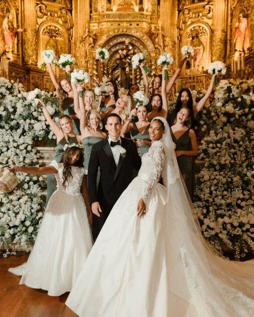 Jasmine Tookes ile Juan David Borrero evlendi - Magazin haberleri