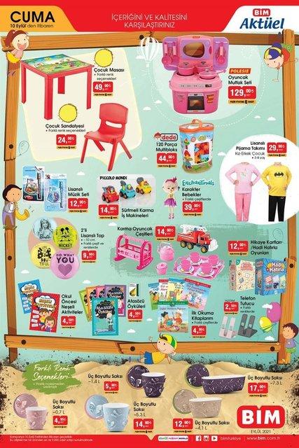 10 Eylül BİM aktüel ürünler kataloğu! BİM'de haftanın indirimli ürünler listesi