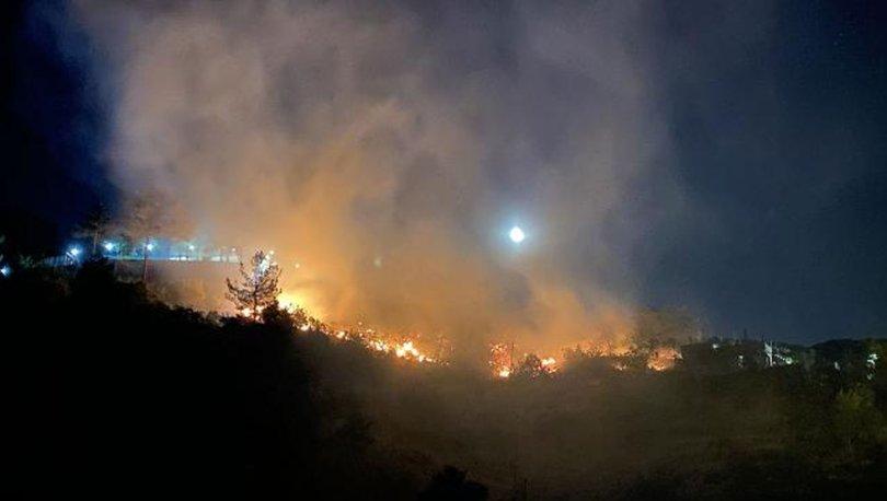 Kahramanmaraş'taki orman yangını söndürüldü, 30 dönümlük alan zarar gördü