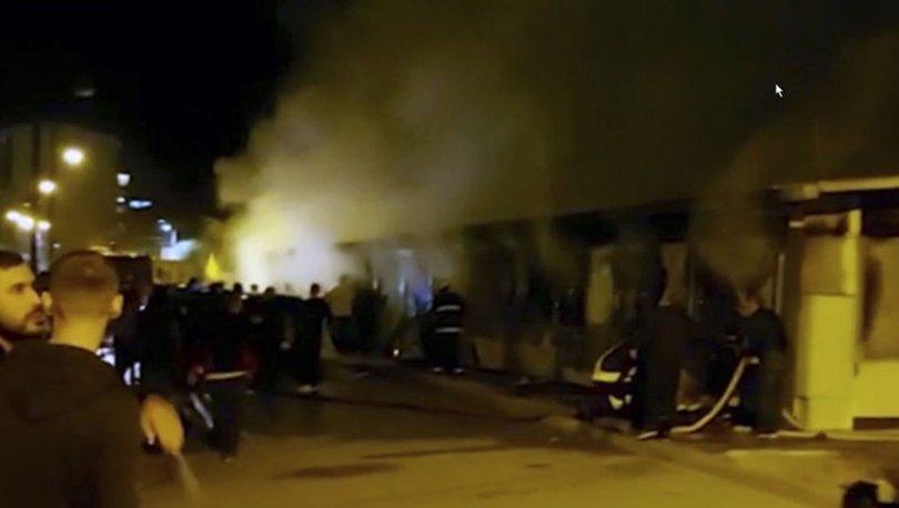 Kuzey Makedonya'da hastanede yangın faciası: Çok sayıda ölü var
