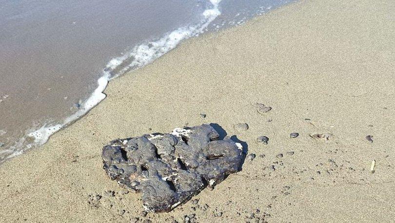 SON DAKİKA: Hatay'da petrol atığı temizliğinde 7. gün - Haberler