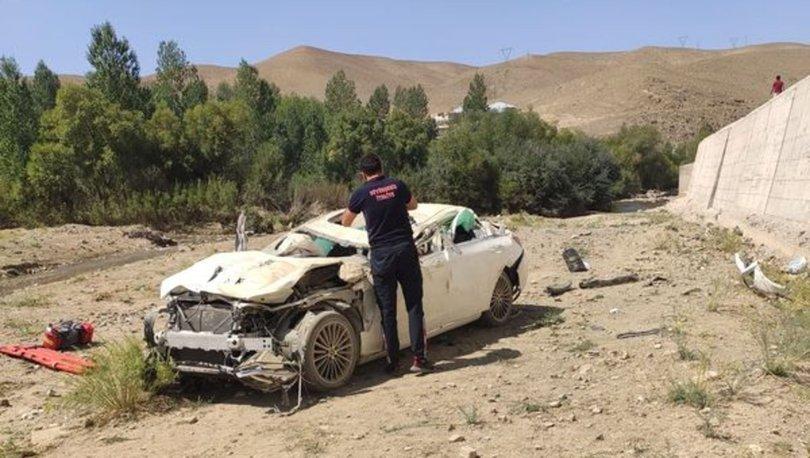 Iraklı çift öldü, kızları ağır