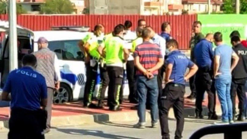 Bisikleti ile okula giden lise öğrencisine polis aracı çarptı