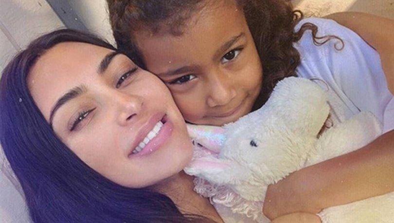 North West annesi Kim Kardashian'ı eleştirdi: Neden farklı konuşuyorsun? - Magazin haberleri