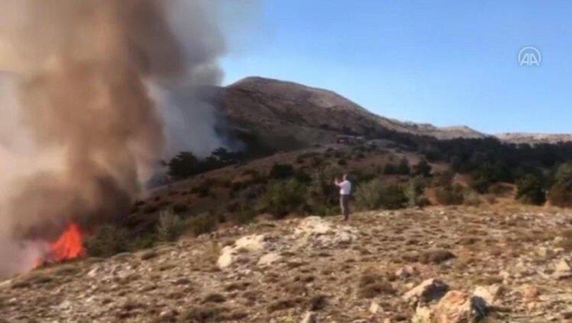 Ankara Çubuk'ta çıkan orman yangını kontrol altına alındı