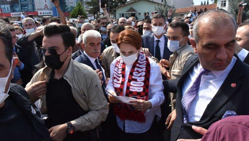 İYİ Parti Genel Başkanı Meral Akşener, Samsun'un İlkadım, Bafra ve Atakum ilçelerini ziyaret etti