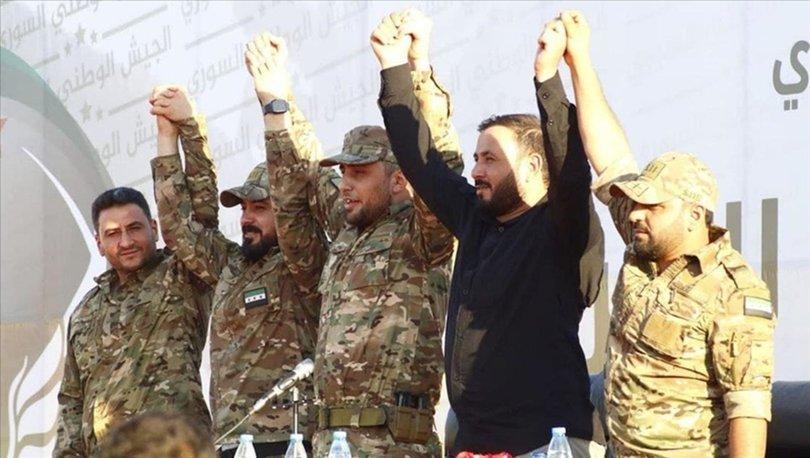Suriye'nin kuzeyinde SMO çatısı altındaki 5 askeri grup