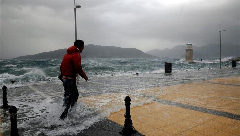 Mersin'e son dakika şiddetli rüzgar uyarısı!