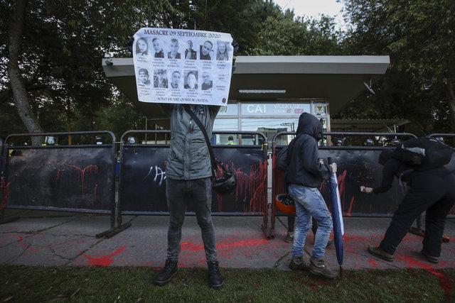 Kolombiya'da polis şiddetine karşı protestoda Javier Ordonez anıldı