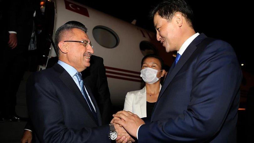 Cumhurbaşkanı Yardımcısı Oktay, Kırgızistan'daki Türk iş insanlarıyla bir araya geldi