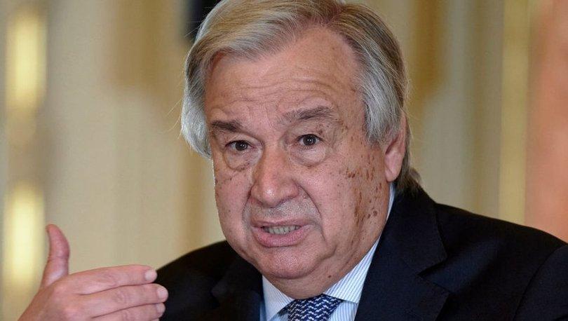 SON DAKİKA: BM Genel Sekreteri Guterres: Milyonlarca ölümü engellemek için Taliban'la diyalog kurmalıyız