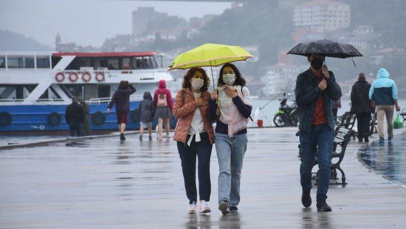 HAVA DURUMU! Son dakika: İstanbullar dikkat! Meteoroloji bölge bölge uyardı - Haberler