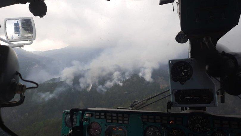 Antalya'da son dakika orman yangını
