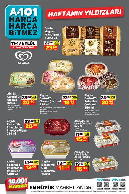 A101 11-17 Eylül Aktüel ürünler kataloğu! A101'de bu hafta indirimli neler var? A101 kataloğu